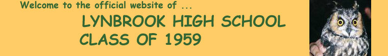 LYNBROOK HIGH SCHOOL Class of 1959